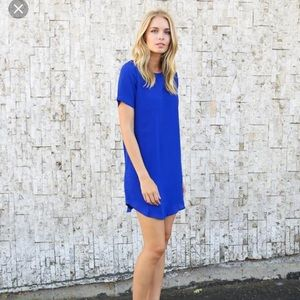 Evenuel Royal Blue Finesse Dress